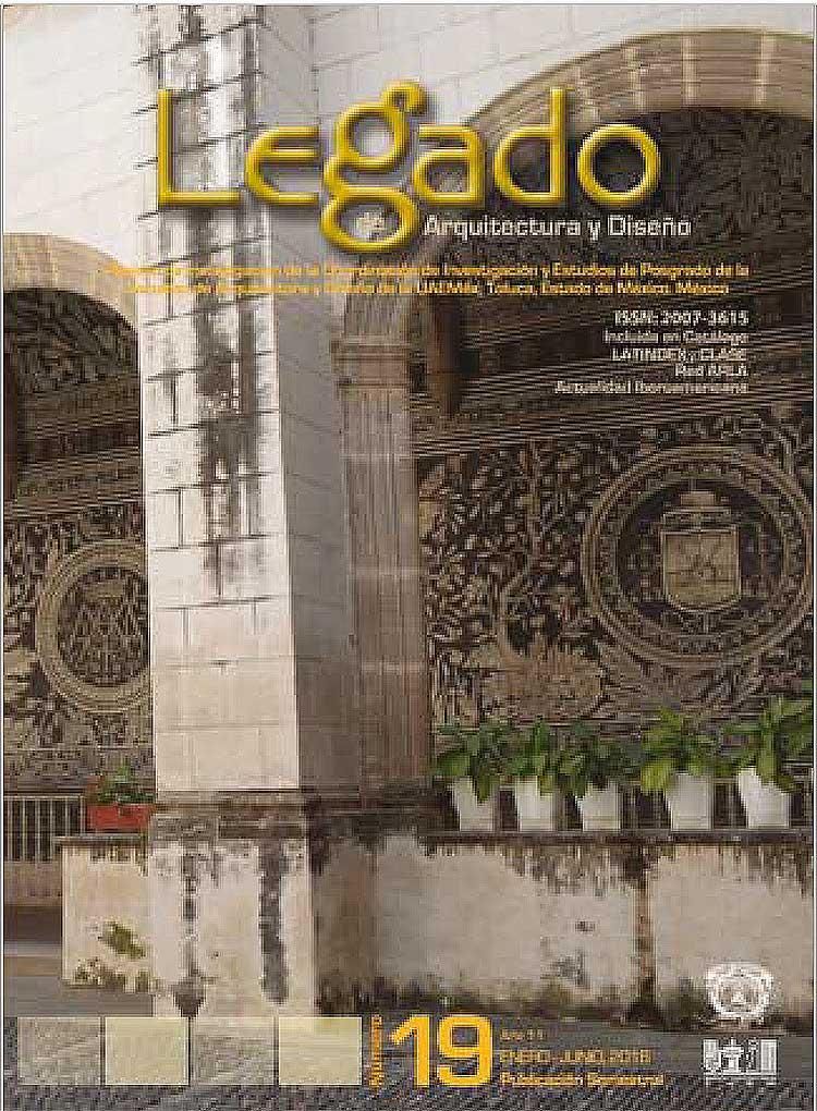 Revista legado de arquitectura y dise o no 19 legado de for Arquitectura basica pdf